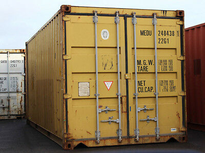 """40ft (8´6 High) Shipping Container, """"wind & Watertight"""", Jacksonville, Florida"""