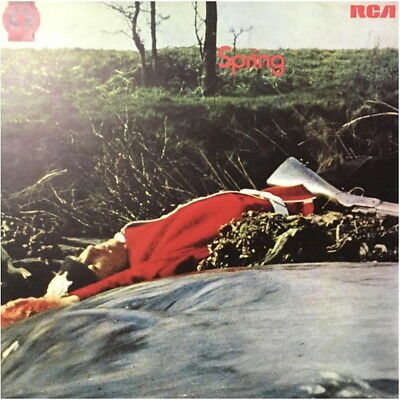 spring  self titled  uk 1971 first issue rca / neon record label lp
