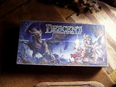 """Descent: Journeys In The Dark """"1st Edition"""" New/ Factory Sealed/mint Collectible"""
