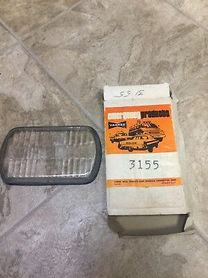 Vintage Nos Yankee Emergency Vehicle  Replacement Lens-glass-#3155