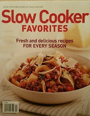 Slow Cooker Favorites Recipes For Every Season Winter 14 Free Priority Shipping