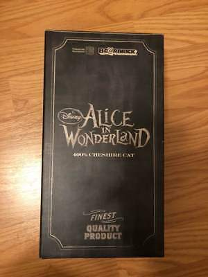 Disney Be@rbrick 400% Alice In Wonderland Cheshire Cat Figure Doll With Carton