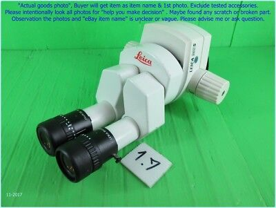 """Leica Ms5 10429783 10445302 10445631 Microscope 16"""" As Photo, Sn:dφm Sep,tested"""