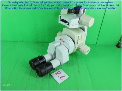 "Leica Ms5 Inspect Microscope 16"" With Bracket Holder As Photo, Sn:set B, Dφm Cmb"