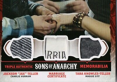 Sons Of Anarchy Seasons 4&5, Marriage Certificate Triple Relic Card Tm1