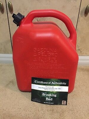 Rare Breaking Bad Jesse Pinkman Gasoline Jerry Can Actual Prop Coa Free Shipping