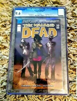 Walking Dead #19 1st Michonne Zombie Bondage Cgc 9.6 Nm/mint!