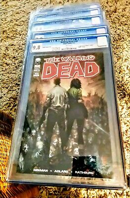 Walking Dead #100 Silvestri Variant 1st Negan Death Glenn Cgc 9.8! 5 Copy Lot