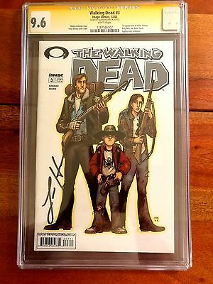 Walking Dead #3 2003 Cgc 9.6 Nm+ Ss 1st Andrea Signed Laurie Holden Rare Vhtf