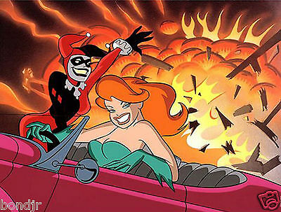 """Wbss """"girls Night Out"""" Animation Cel - Sold Out Rare Cel Art"""