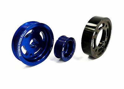 Obx Blue Overdrive Pulley Fits Toyota 02-06 Matrix Xrs, 00-05 Celica Gts 2zz-ge