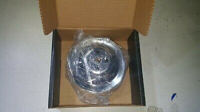 350 383 327 Small Block Chevy Water Pump Pulley Double Groove Short Chrome