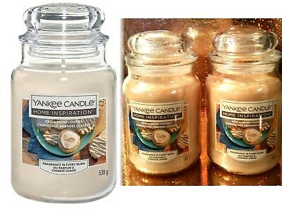 2 Yankee Candle Iced Almond Cookies Large Jar Home Inspiration Lot Vanilla Spice