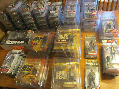 Mcfarlane The Walking Dead Action Figures Series 1-9 Complete Collection!