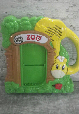 Leap Frog Fridge Phonics Zoo Frig Magnet** No Pieces And Missing Battery Cover