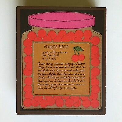 Hallmark Cherries Jubilee Boxed Stationery 36 Sheets 31 Envelopes Vintage