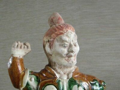 Antique Tang Pottery Guardian