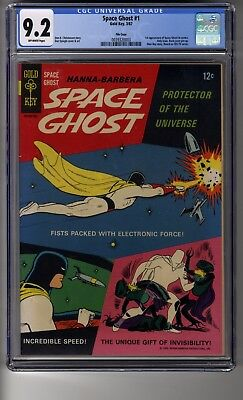 Space Ghost (1967) # 1 - Cgc 9.2 Off-white Pages - First Space Ghost, Zorak, Jan