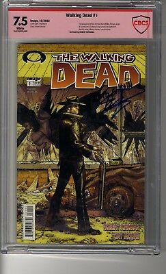 Walking Dead # 1 - Cbcs 7.5 White Pages - Vsp Robert Kirkman - First Rick Grimes