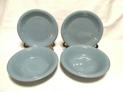 Gibson Housewares 8 Salad, Side Or Luncheon Plates Pastel Colors Measuring 8""