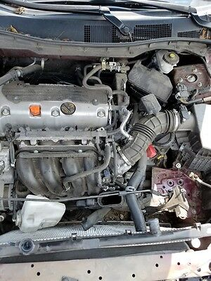 11-12 Honda Accord Lx Se Sedan 2.4l At Pzev Vin 2 Engine Motor Complete Tested!