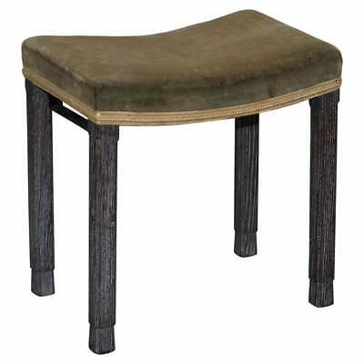 Very Rare Original King George Vi Coronation Stool 1937 Limed Oak By Maple