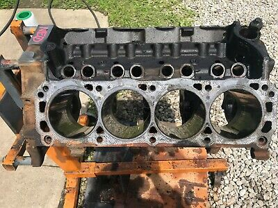 87-93 Ford Mustang 302 Ho Stock Roller Block Bare Engine Block Xxx Oem W/ Caps
