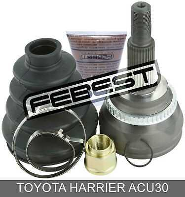 Outer Cv Joint 27x61.2x30 For Toyota Harrier Acu30 (2003-2012)