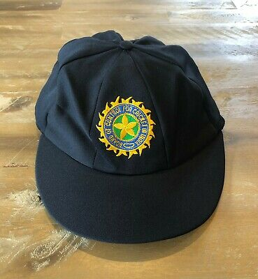 Player Issued - Indian National Team Baggy Test Cricket Cap C1990s - (authentic)