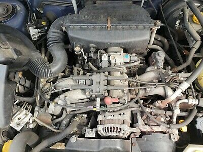 2004 Subaru Forester 2.5l Engine Assembly