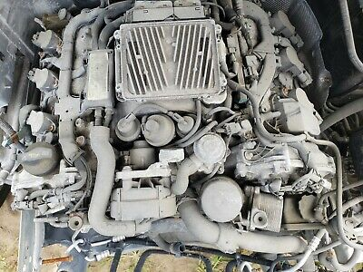 2008 2009 Mercedes Benz C300 3.0l Awd Engine Assembly