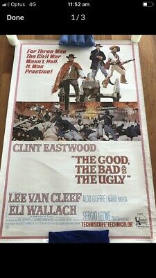 movie poster  the good the bad and the ugly