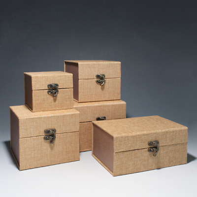 50x Scented Candle Bowls Custom Boxes Flameless Candle Christmas Gifts Box