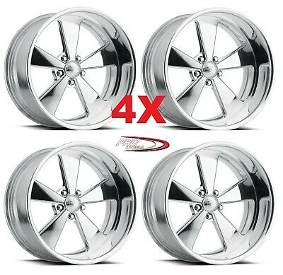 """18"""" Pro Wheels Rims Muscle Billet Forged Custom Staggered Ss"""