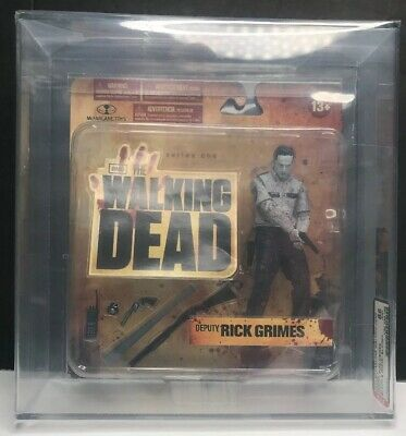 2011 Walking Dead Series 1 Deputy Rick Grimes Black White Variant  Graded 85+ Nm