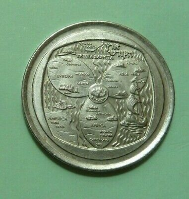 Israel 2000. The Annual Badge Of The Israeli State Corporation Medals And Coins.