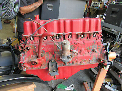 1964 1/2 1965 Ford Mustang 200 6 Cylinder Engine Block C5de 6015 H 64 65