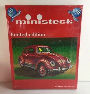 "Ministeck #31852 ""vw Beetle"" Limited Ed. Rare Germany Pixel Puzzle 8,350 Pcs"