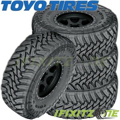 4 Toyo Open Country M/t 35x1250r18 123q E/10 Off-road All Season Mud Tires