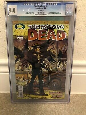Walking Dead #1 First Printing Cgc 9.8