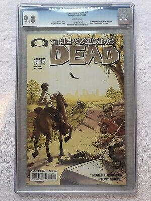 Walking Dead #2 Cgc 9.8 (2003) Nm/mt 1st App Of Lori & Carl Grimes & Glenn