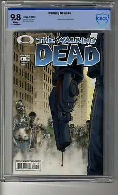 Walking Dead # 4 - Cbcs 9.8 White Pages - Cover By Tony Moore