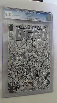 Walking Dead #1 - Ww Nyc Exclusive Vip Neal Adams Sketch Variant - Cgc 9.8 Nm/mt