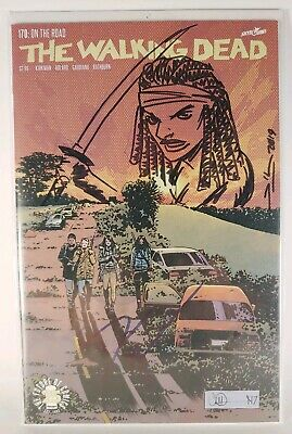The Walking Dead Comic #170 - Signed Danai Gurira Sketched & Signed Rich Woodall