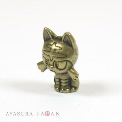 Pokemon 2016 Metal Collection Sun & Moon Litten Figure (Bronze Version)