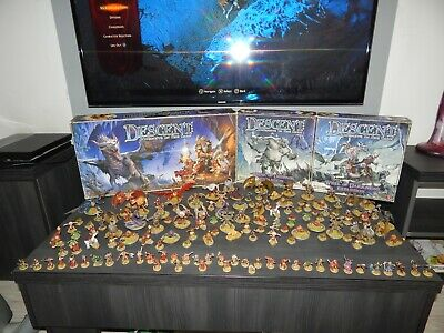 Descent: Journeys In The Dark 1st Edition+2 Expansions+gift *pro Painted Minis*