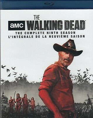The Walking Dead Complete 9th Season (bluray)(5 Disc Set) (used)