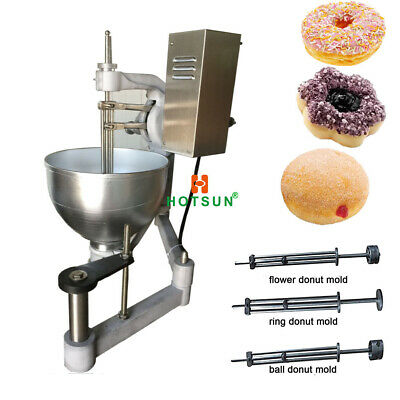 Commercial Electric 9l Automatic Donut Machine Doughnut Maker With 3 Molds
