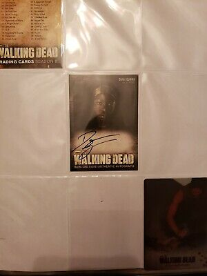 Walking Dead Trading Cards -autograph, Hand-drawn, Cryptozoic, Topps