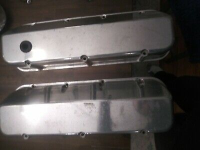 Big Block Chevy Aluminum Valve Covers